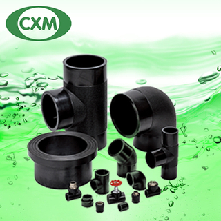 HDPE FITTINGS 黑